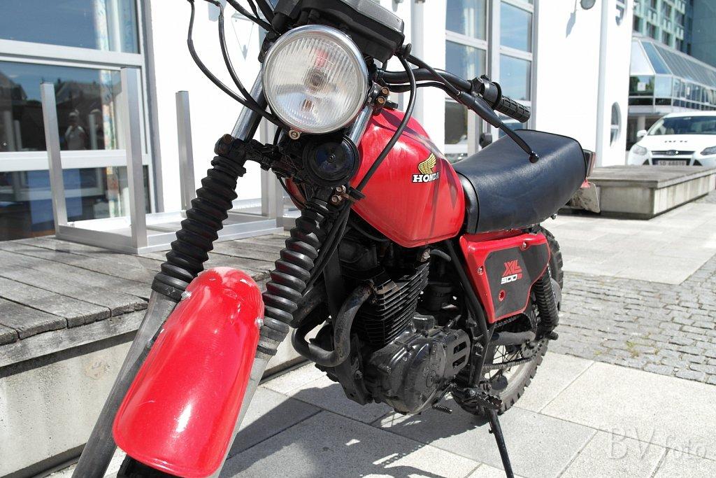 Honda XL500 (80'er ting)