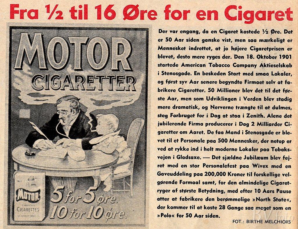 Motor Cigaretter
