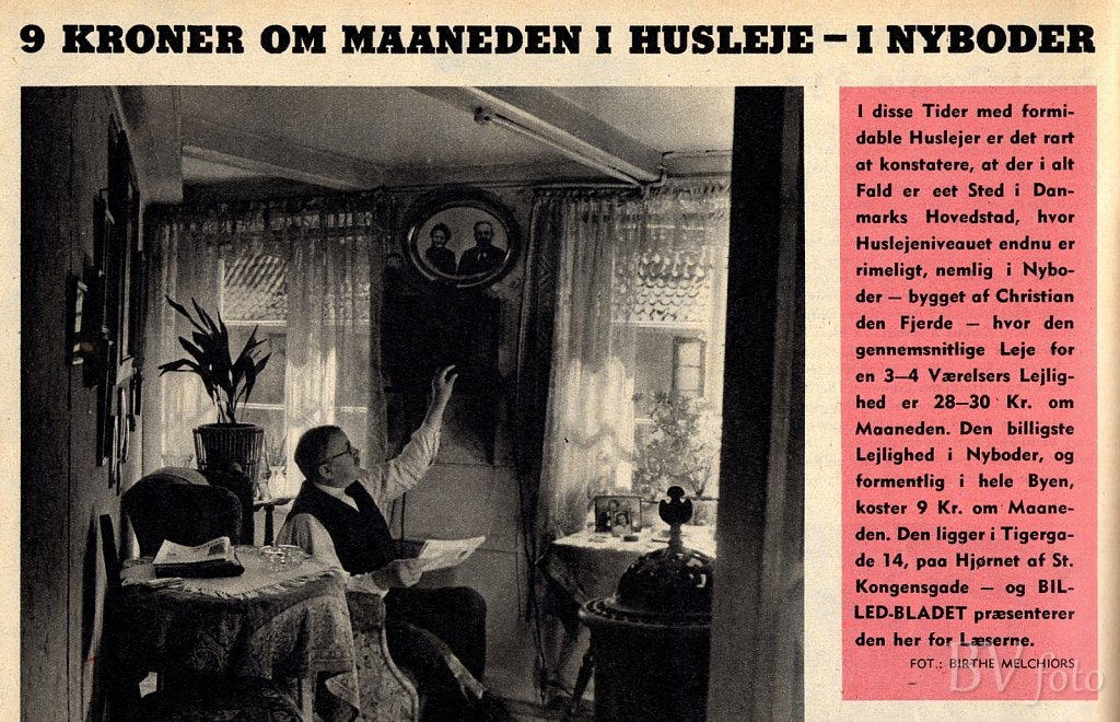 Nyboder Husleje