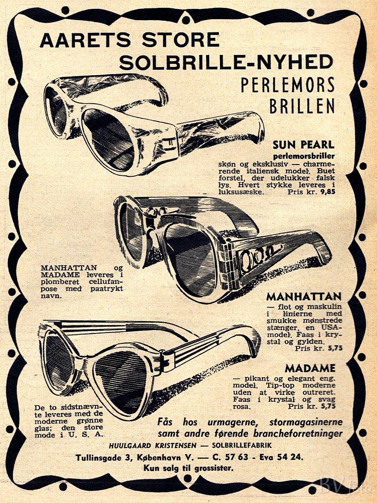 Perlemors-Solbrillen