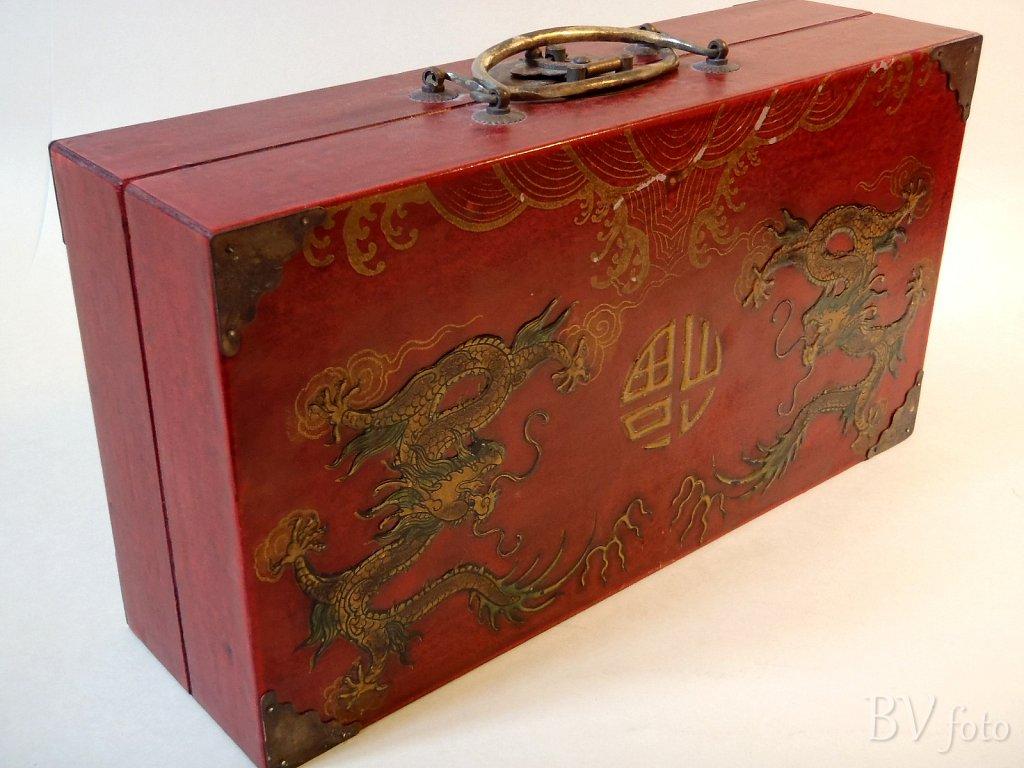 Kinesisk Skakspil Kasse
