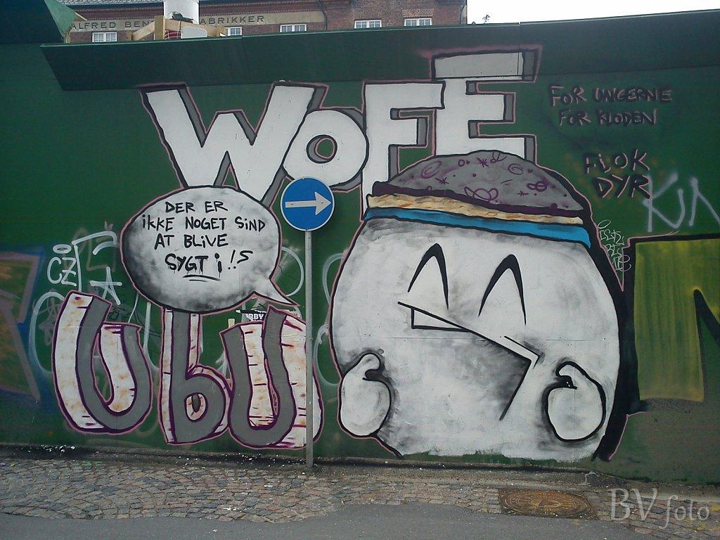 Wofe - UbU, Sdr. Blvd., Kbh.
