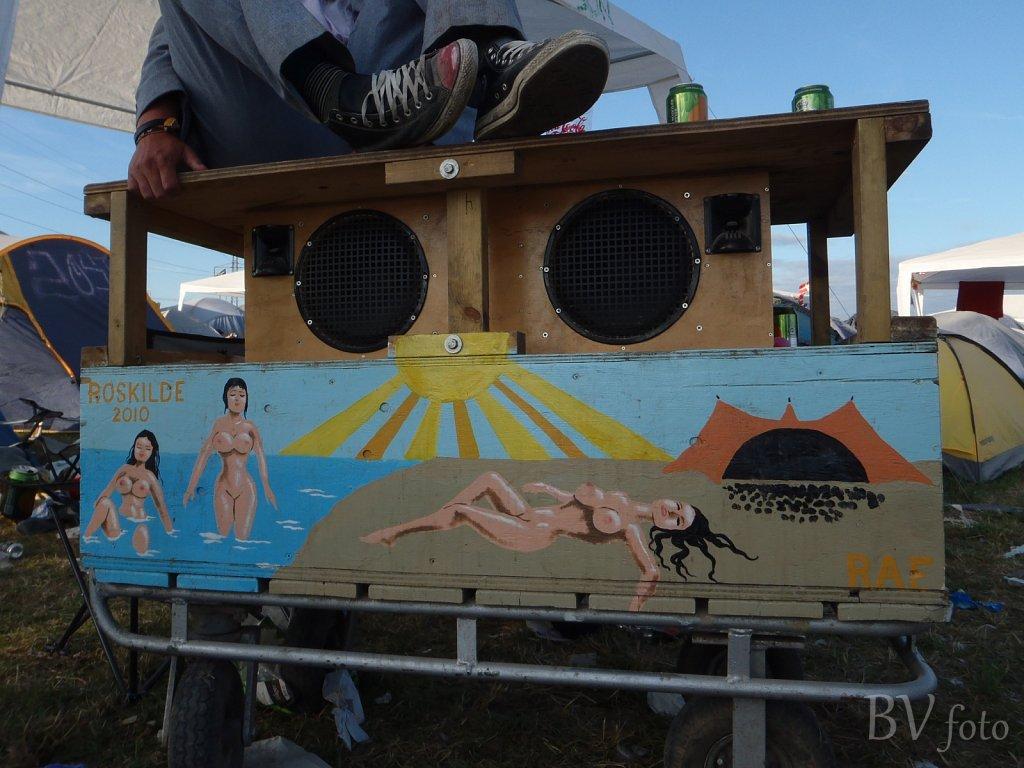 Anlæg Deko RF2010, Roskilde Festival