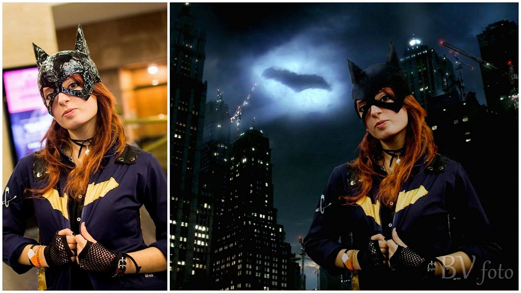 Cat / Batwoman Cosplay