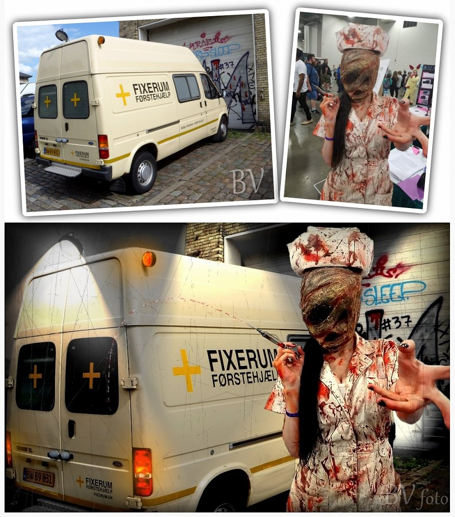 Fixerum mobil vs. Cosplay foto