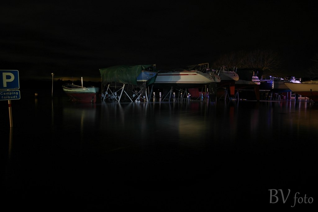 Bådopvaring havneplads