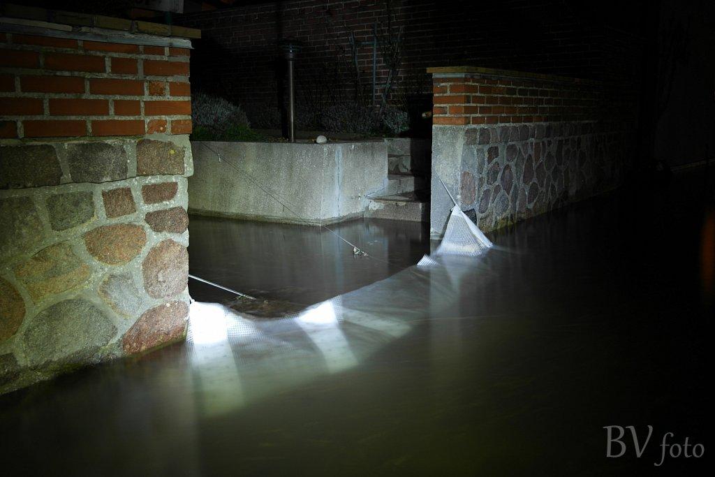 Vandspærring på Strandvejen