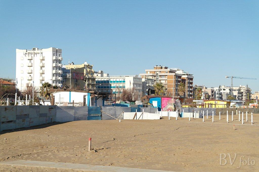 Rimini strandpromenade