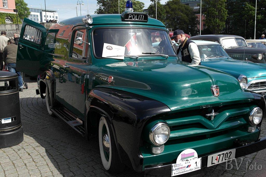 Ford F-100 Politi, 1955