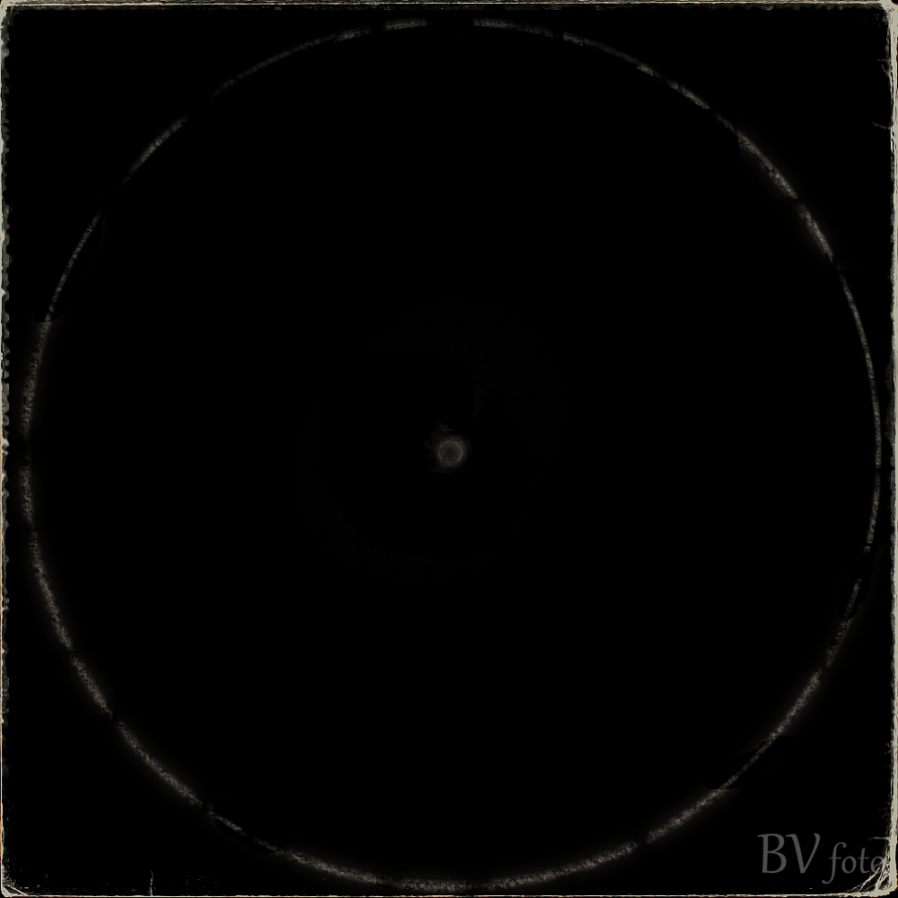 Free Vinyl Record Cover effect - Black png