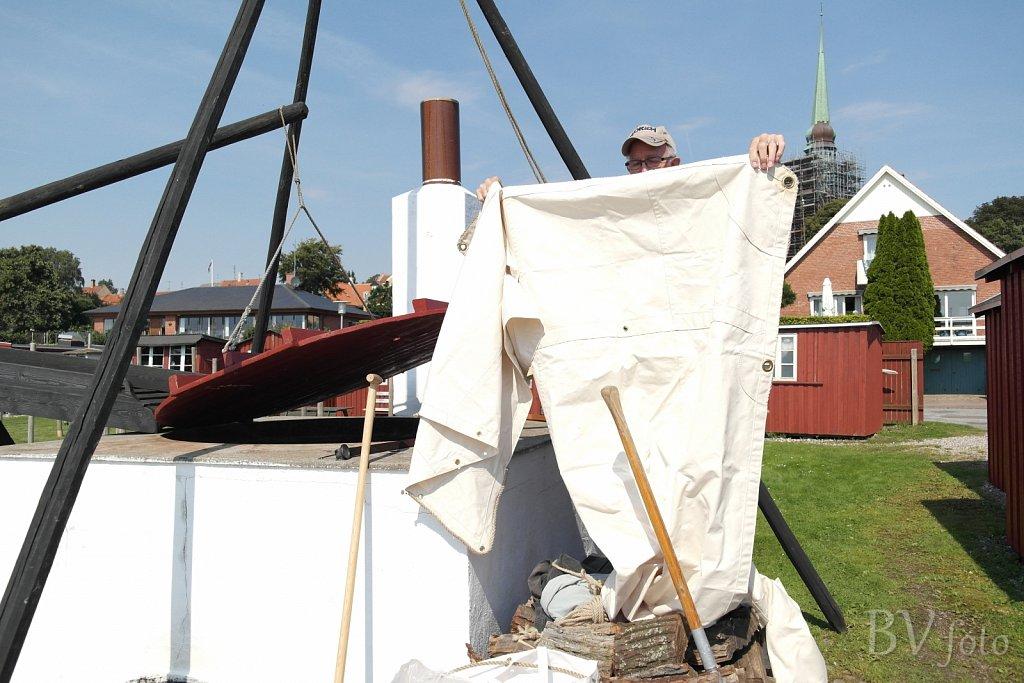 Nyt sejl klar til barkbaljen
