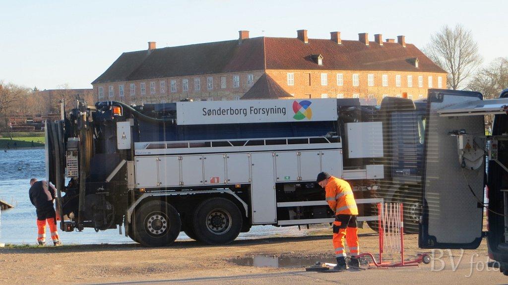 Sønderborg Forsyningen i arbejde